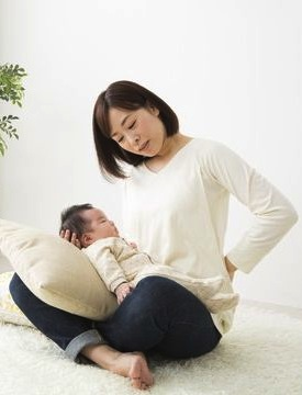 明石 朝霧整体院 産後の腰痛について